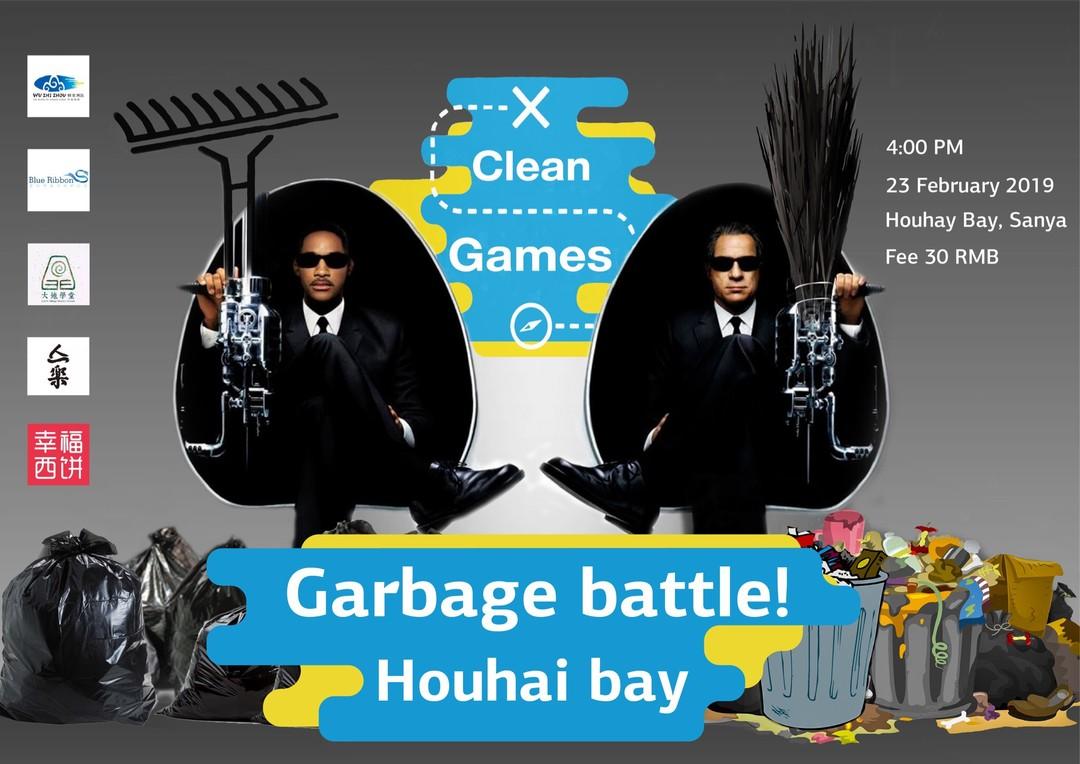 Garbage Battle! Clean Games in Sanya